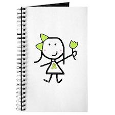 Girl & Lime Ribbon Journal