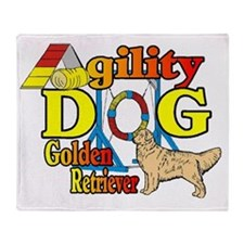 golden agility Throw Blanket
