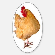 Gert cutout dumb cluck copy Decal