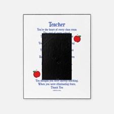 teacher poem Picture Frame
