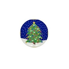 Christmas Let It Snow Decorative Gifts Mini Button
