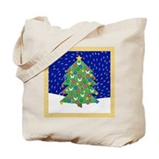 Christmas Let It Snow Decorative Gifts Tote Bag