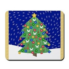 Christmas Let It Snow Decorative Gifts Mousepad