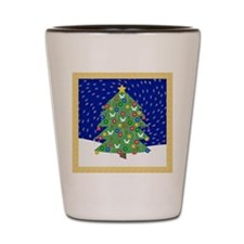 Christmas Let It Snow Decorative Gifts Shot Glass