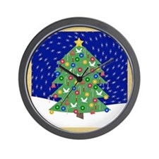 Christmas Let It Snow Decorative Gifts Wall Clock