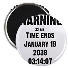 time-ends-1-blackLetters copy Magnet