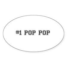 #1 Pop pop Decal