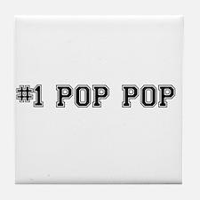 #1 Pop pop Tile Coaster