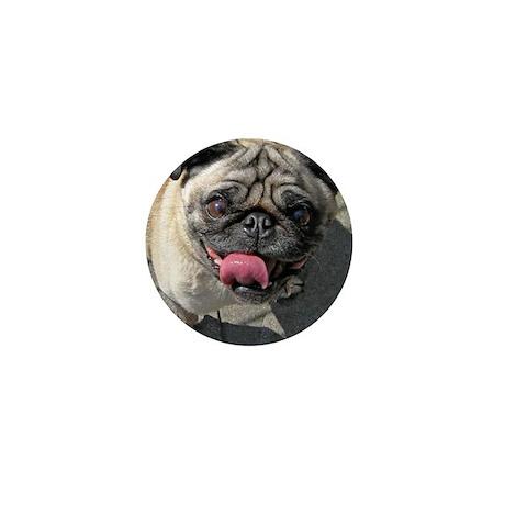 dog - homer Mini Button