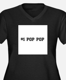 #1 Pop pop Plus Size T-Shirt