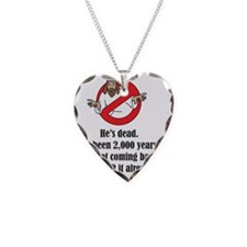 Ghostbuster Tshirt Necklace