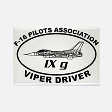 IXG F16 VIPER DRIVER Rectangle Magnet
