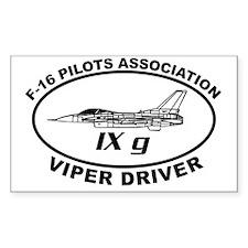 IXG F16 VIPER DRIVER Decal