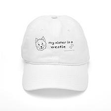 WestieSister Baseball Cap