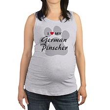 German-Pinscher Maternity Tank Top