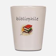 bibliophile Shot Glass