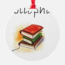 bibliophile Ornament