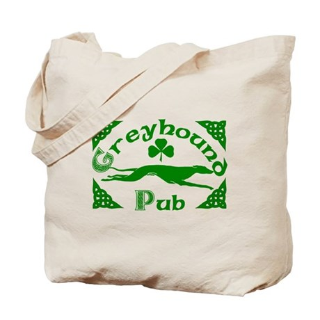 Greyhound Pub Tote Bag