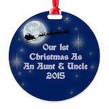 Aunt 2015 Ornaments