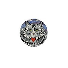 cat-gray-tabby-heart-stars-4-5.25 Mini Button