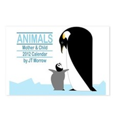 Animals-Calendar2012 Postcards (Package of 8)