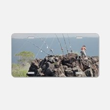 Deep Sea Fishing Aluminum License Plate