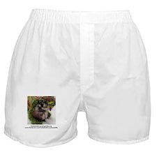 Funny Freida, the throw away kitty Boxer Shorts
