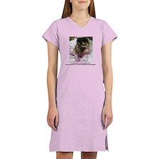 Unique Freida, the throw away kitty Women's Nightshirt