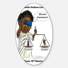 Congressman Sheila Jackson Lee Decal