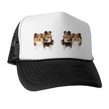 Sheltie Multi Mug Trucker Hat