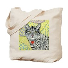 cat-gray-tabby-heart-colors-1-5.25 Tote Bag