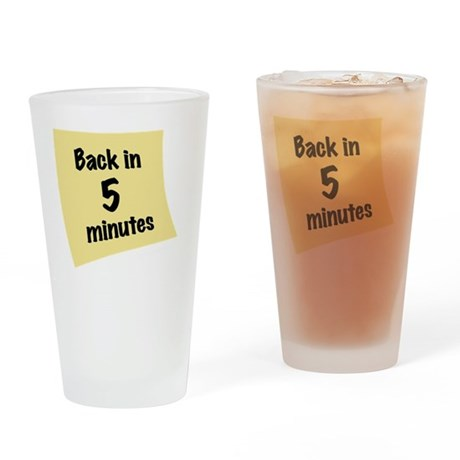 OO_back-in-5 Drinking Glass