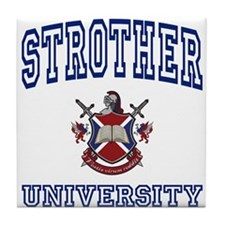 STROTHER University Tile Coaster