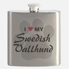 Swedish-Vallhund Flask