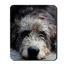 WolfhoundFace Mousepad