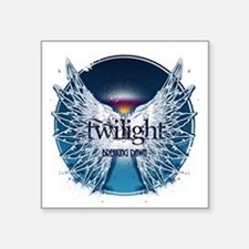 """breaking dawn wings and hor Square Sticker 3"""" x 3"""""""