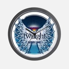 breaking dawn wings and horizon teal by Wall Clock