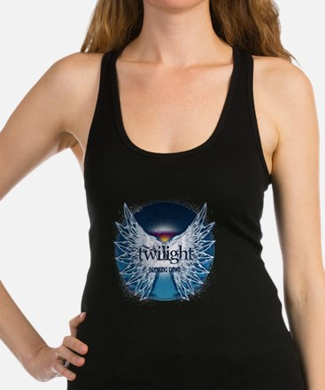 breaking dawn wings and horizon Racerback Tank Top