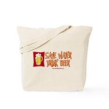 Drink Beer Tote Bag