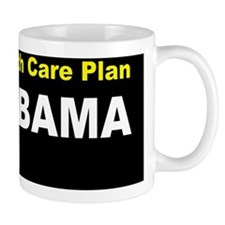 Anti Obama Healthcare fire obamadbutton Mug