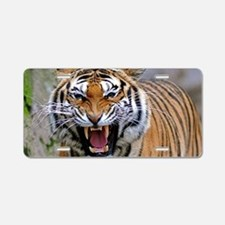 Atiger laptop Aluminum License Plate