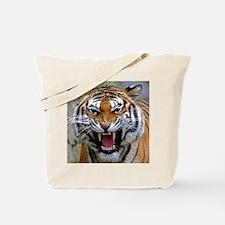 Atiger shirtBlack Tote Bag
