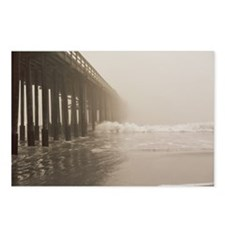 Pier fog Postcards (Package of 8)