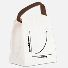 moneyproblems Canvas Lunch Bag