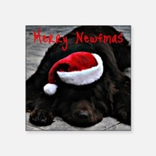 "merry newfmas Square Sticker 3"" x 3"""