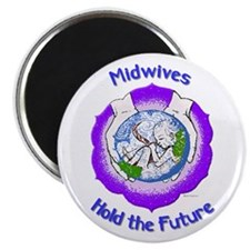 "Funny Home birth 2.25"" Magnet (10 pack)"