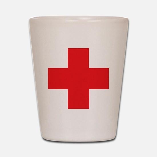 first_aid Shot Glass