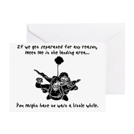 TandemSeperated1 Greeting Card