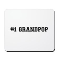 #1 Grandpop Mousepad