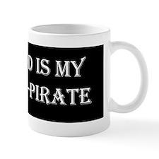 god_is_my_copirate_bumper Mug